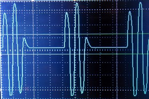 1000 hz waveform base @ -25 volts to +25 volts